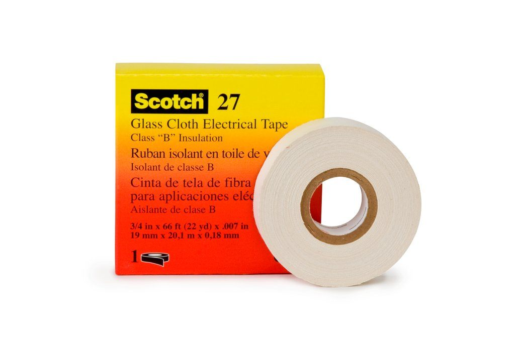 3-M 27-3/4INX66FT Glass Cloth Electrical Tape 27, 3/4 in x 66 ft