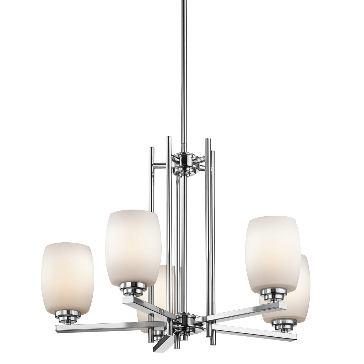 KIC 1896CH One Light Chrome Up Chandelier 1X100Medium