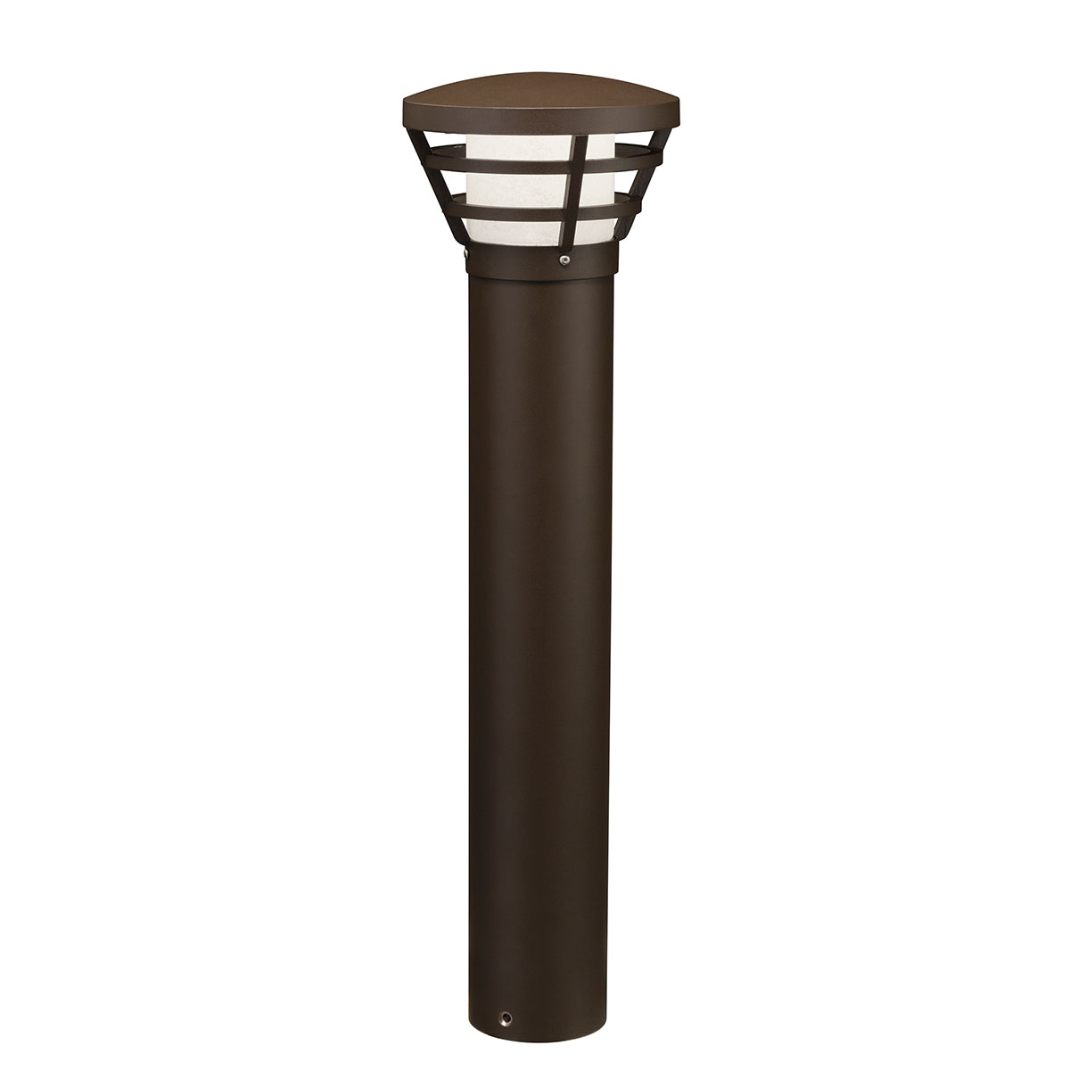 16133AZT28 KICHLER SOFT CCONTEMPORARY LED BOLLARD