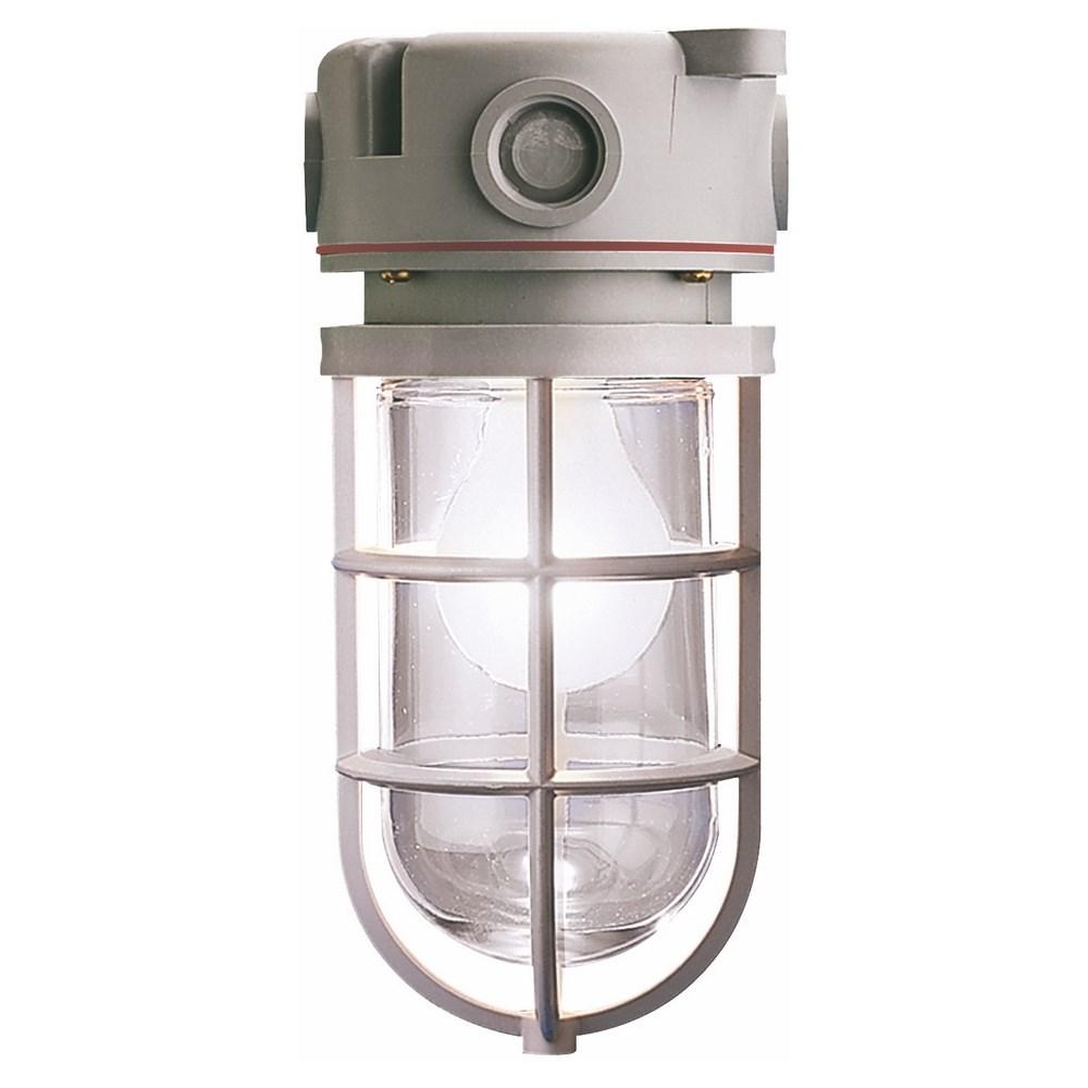 LVPL18HRC-HAZ CEIL. MT. 18W PVC CF FIXT. CLEAR HRGG HAZ SCEPTALIGHT