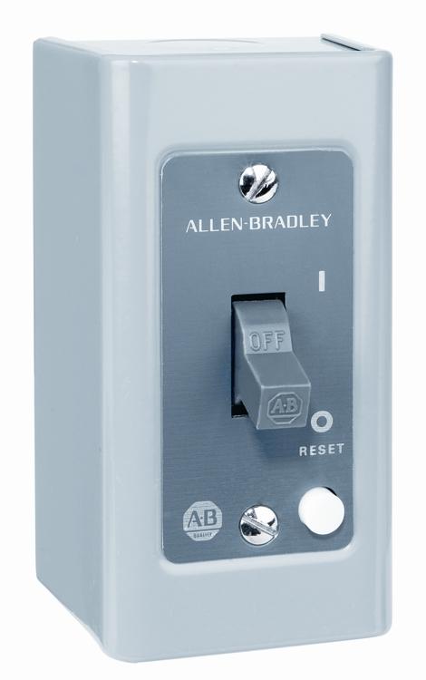 Manual motor starters north coast electric for Allen bradley manual motor starter