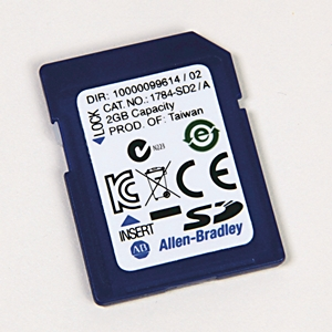 Allen-Bradley,1784-SD2,ControlLogix Secure Digital Card