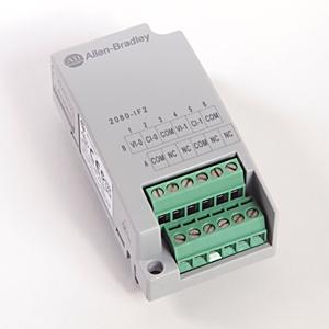 Allen-Bradley,2080-IF2,MICRO800 2 POINT ANALOG INPUT PLUG-IN