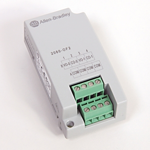 Allen-Bradley,2080-OF2,MICRO800 2 POINT ANALOG OUTPUT PLUG-IN