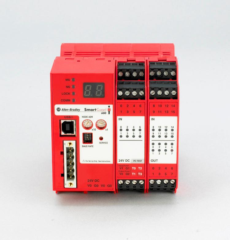 Allen-Bradley,1752-L24BBB,SmartGuard 600 Safety Controller