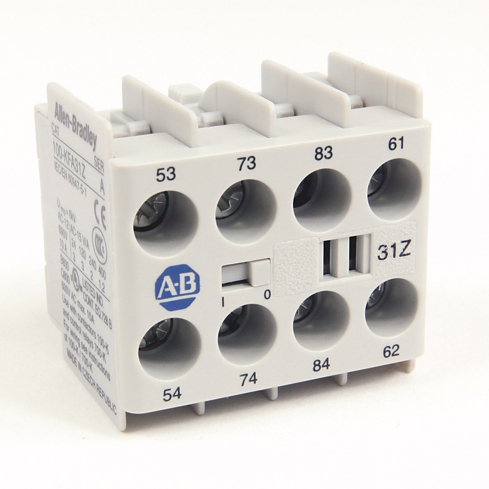 100-KFC22 AB AUXILIARY CONTACT BLOCK 66207452491