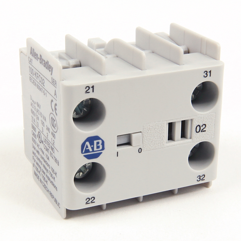 100-KFC20 AB AUXILIARY CONTACT-BLOCK 66207452498