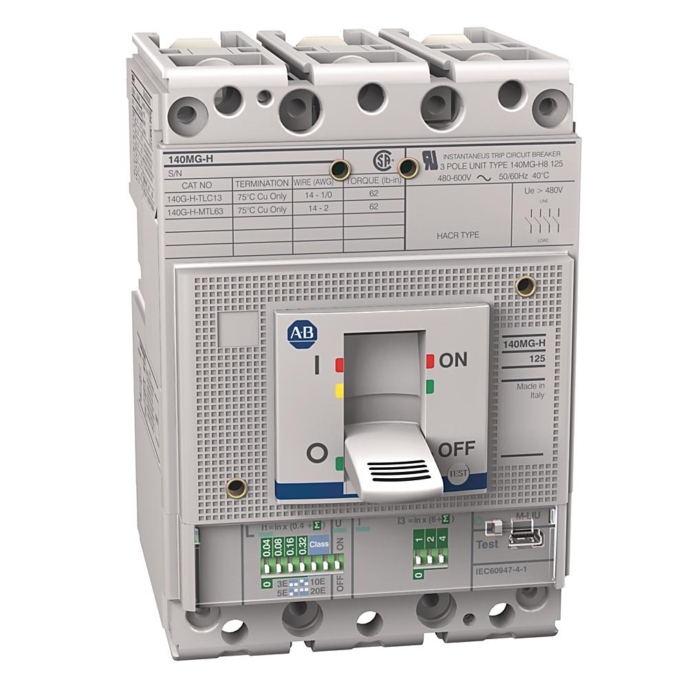 140MG-H8E-C60 AB 140MG 125A FRAME MTR PROTECTION CKT-BKR 88563044185