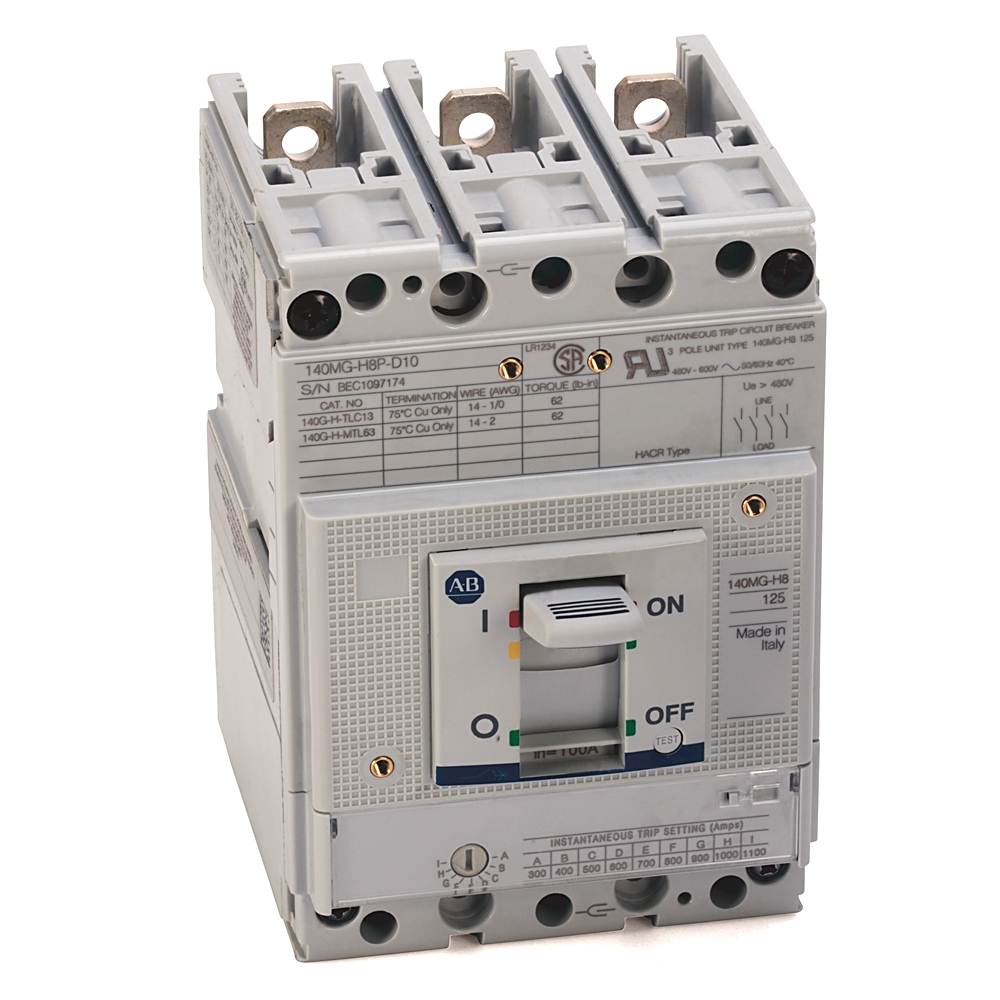 Rockwell Automation AB140MGH8PD10 - Wabash Electric