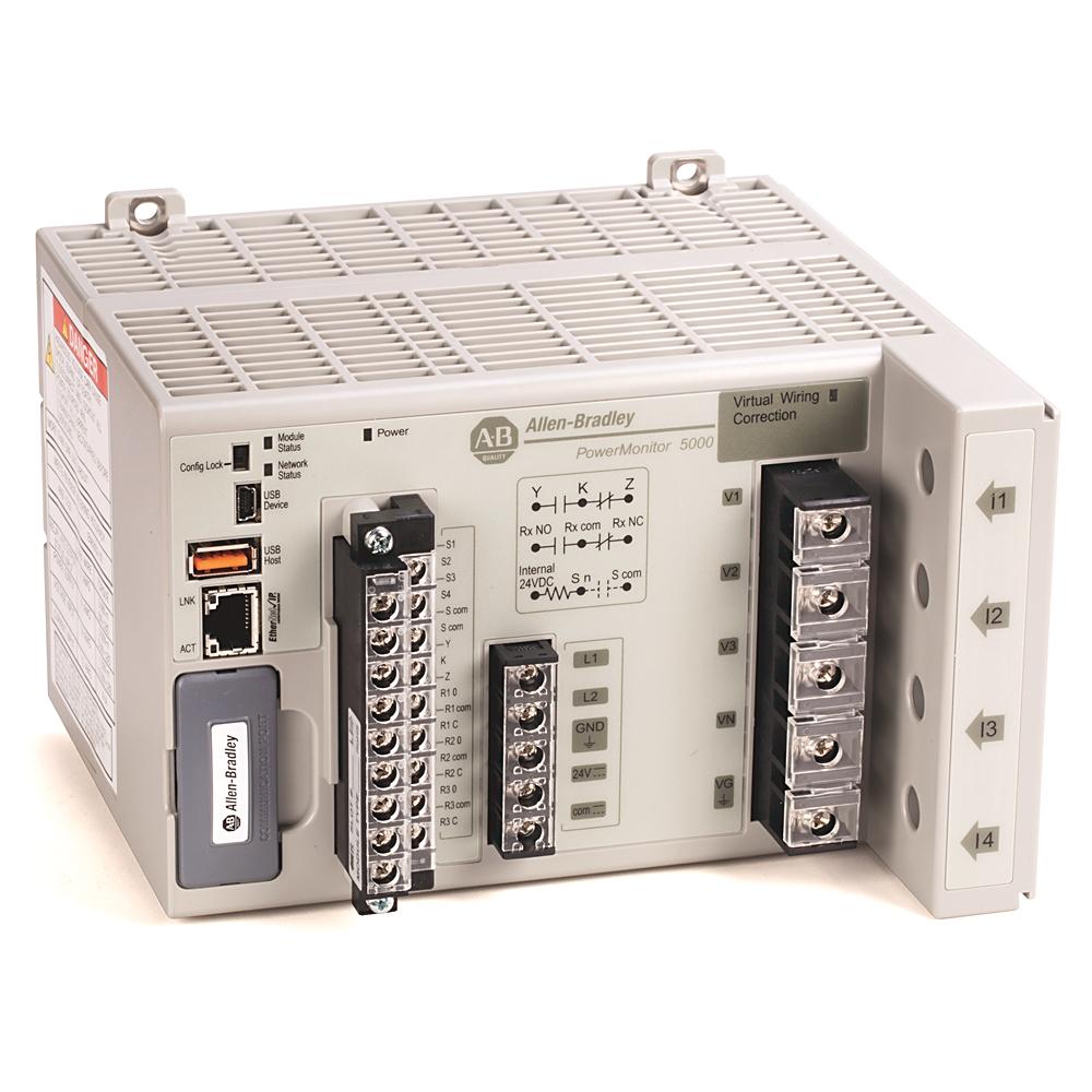 Rockwell Energy Monitoring Powermonitor 5000 Wabash Electric Oli Rotary 2t R30 Automation Ab1426m6e