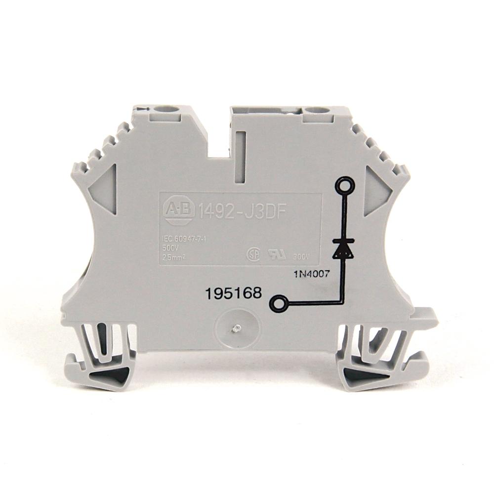 1492-J3 AB IEC ONE-CIRCUIT FEED-THROUGH BLOCK 2.5MM MAX WI