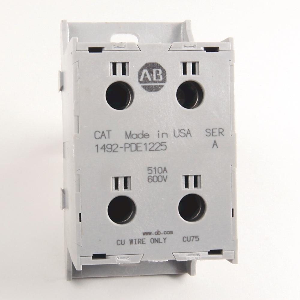 1492-PDE1225 AB POWER BLK 1 POLE ENCLOSED 66207494480