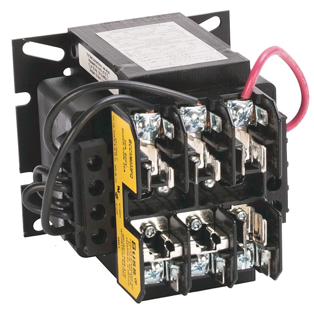 1497-C-BASX-3-N AB XMFR 130VA 480/240V-120V PRI -SEC FUSE BLOCK