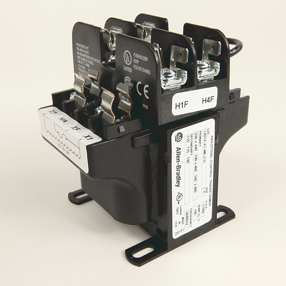 Rockwell Power Supplies Control Circuit Transformers - 1497A Machine on industrial motor control, industrial electrical wiring diagrams, industrial electrical panel wiring,