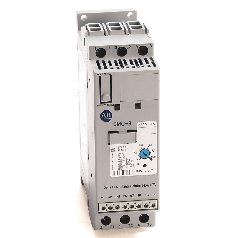 150-C16NBD AB SMC3 200-480V 16A 120V CNTRL
