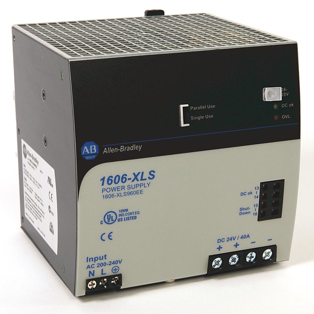 1606-XLS960EE AB 24V DC, 40A, 200-240V AC input 61259884639