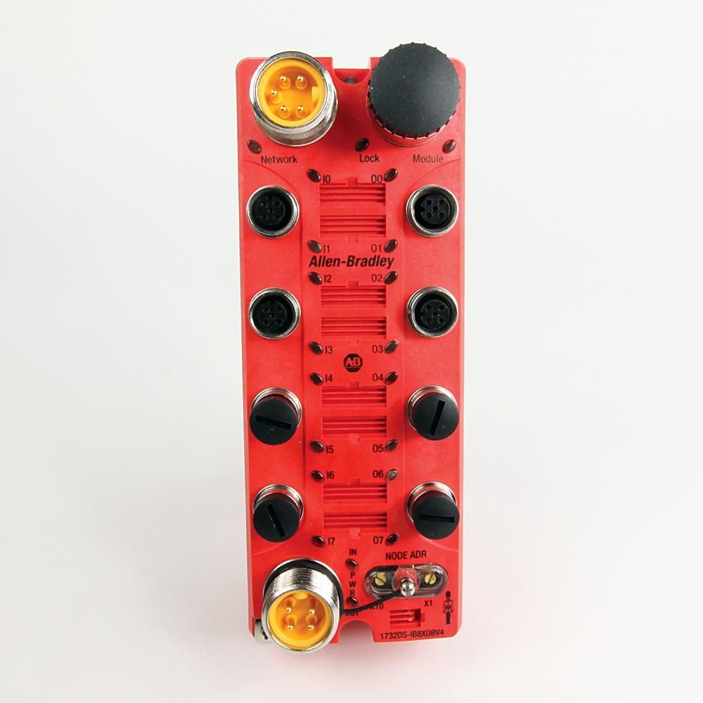 Allen-Bradley,1732DS-IB8XOBV4,Guard I/O 16 Point Digital Comb Module