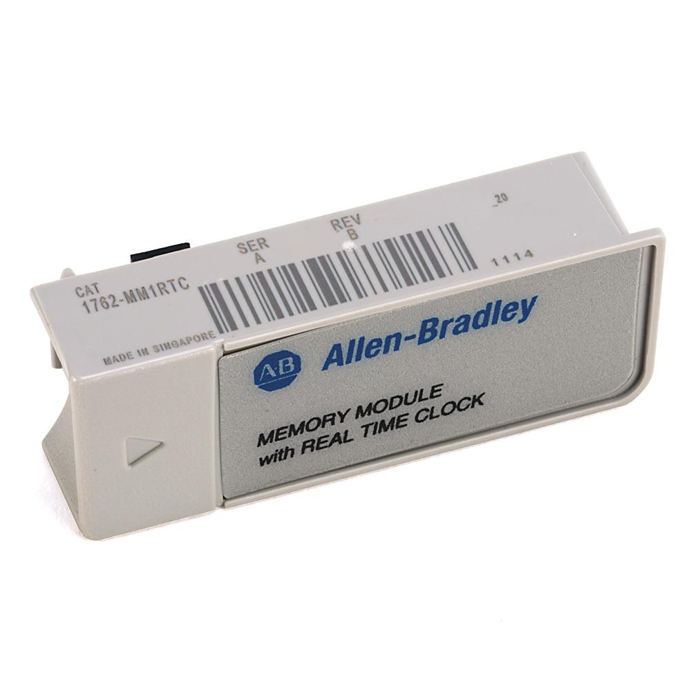 Allen-Bradley,1762-MM1RTC,MicroLogix 1200 with RTC Memory Module