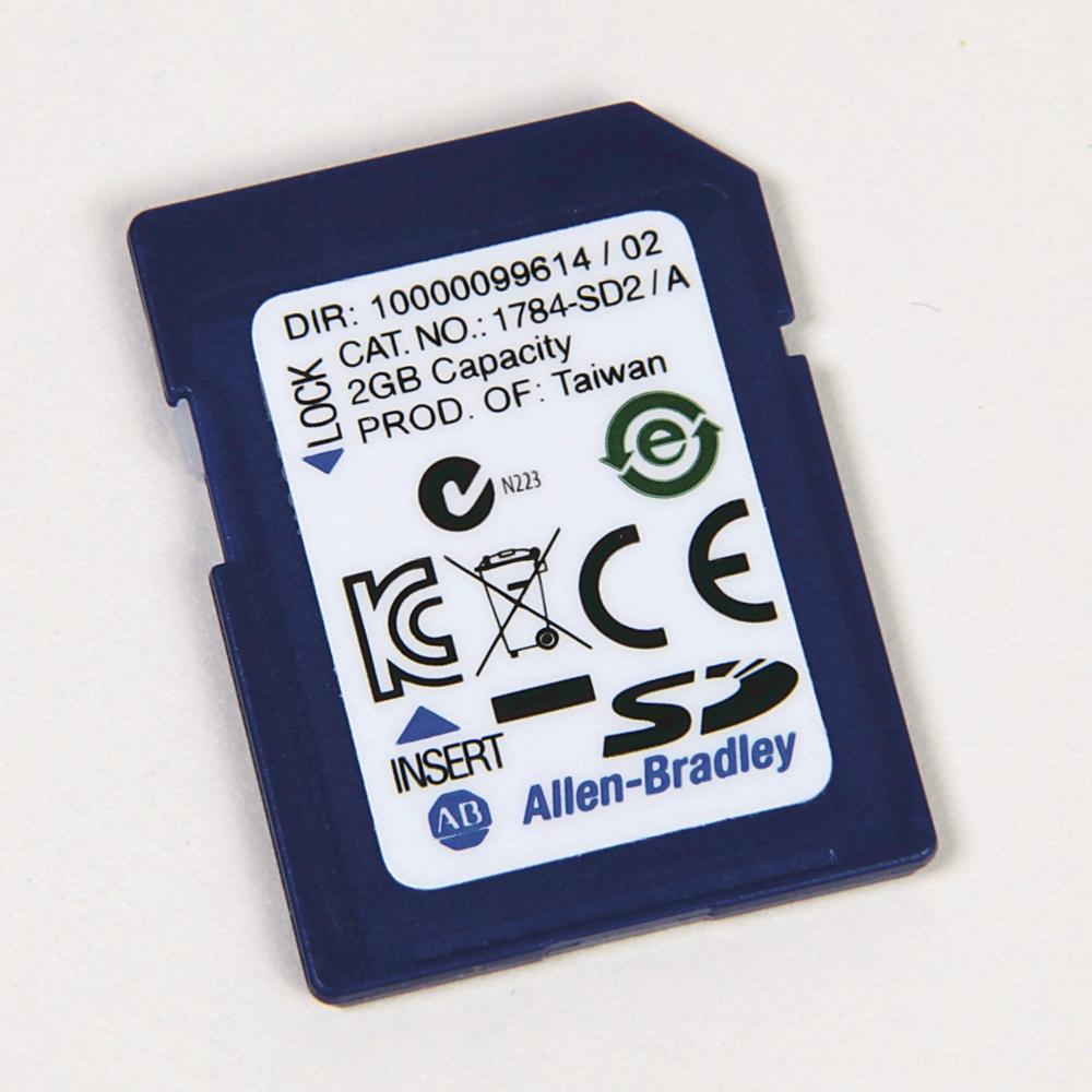 1784-SD2 AB 2 GB SECURE DIGITAL CARD 61259887612