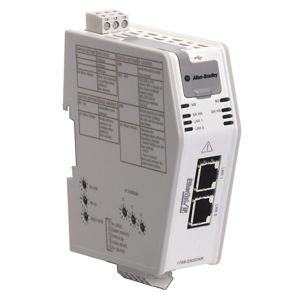 1788-EN2DNR AB ETHERNET/IP TO DEVICNET LINKING DEVICE 88563048562