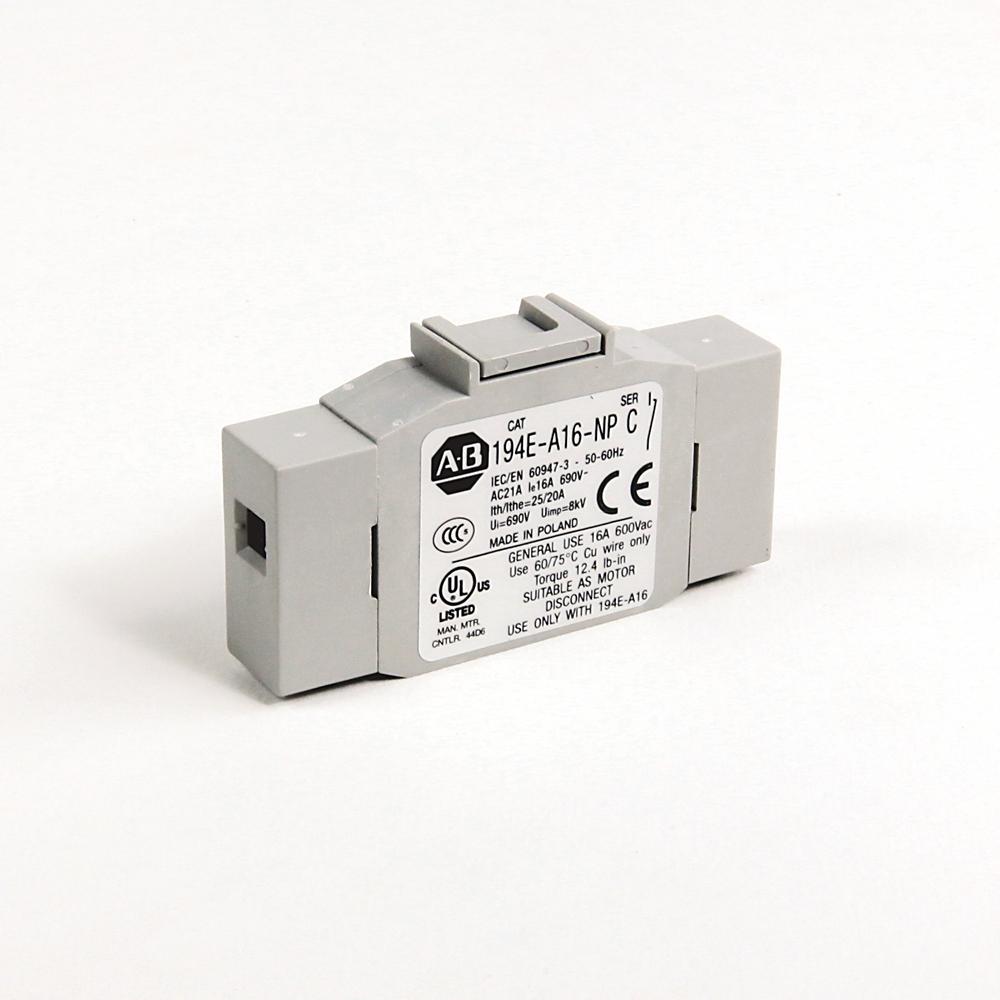 194E-A16-1753-4N AB IEC LOAD SWITCH, OPEN - BASE / DIN RAIL 61132070715