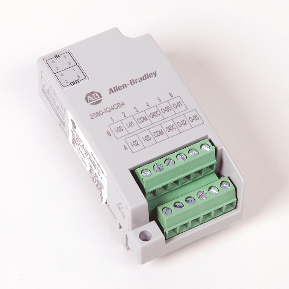 Allen-Bradley,2080-IQ4OB4,Micro800 8 Point Digital Combo (Source)