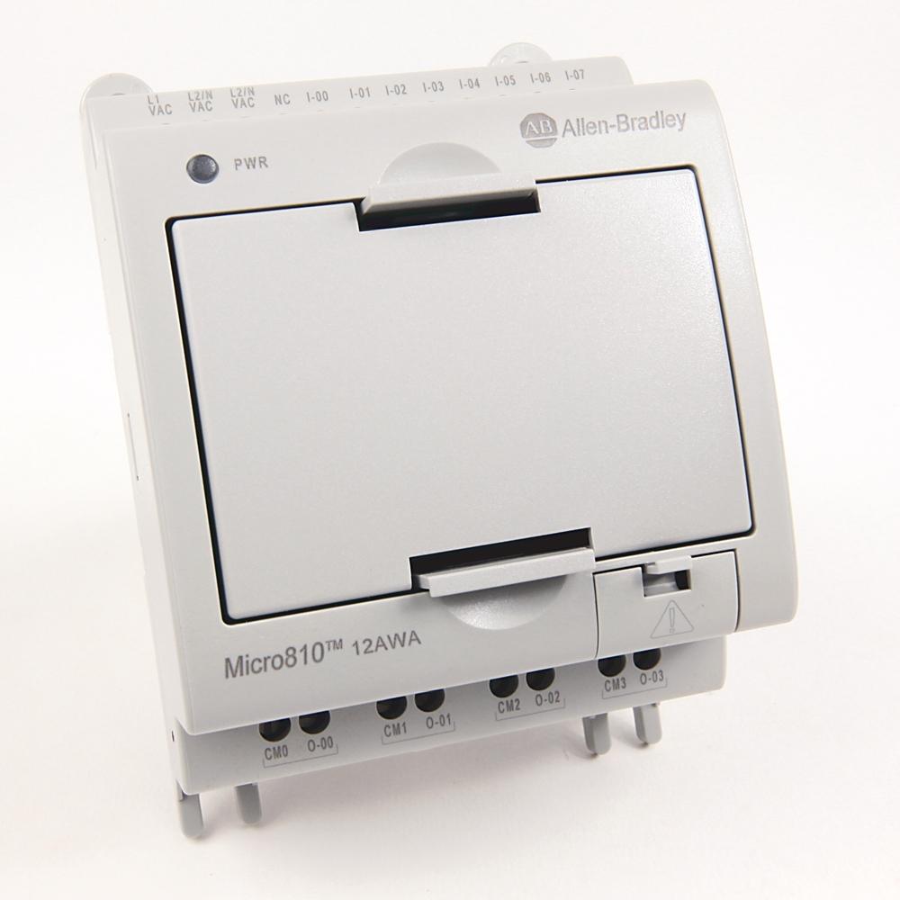 Allen-Bradley,2080-LC10-12AWA,Micro810  12 I/O Smart  Relay Controller
