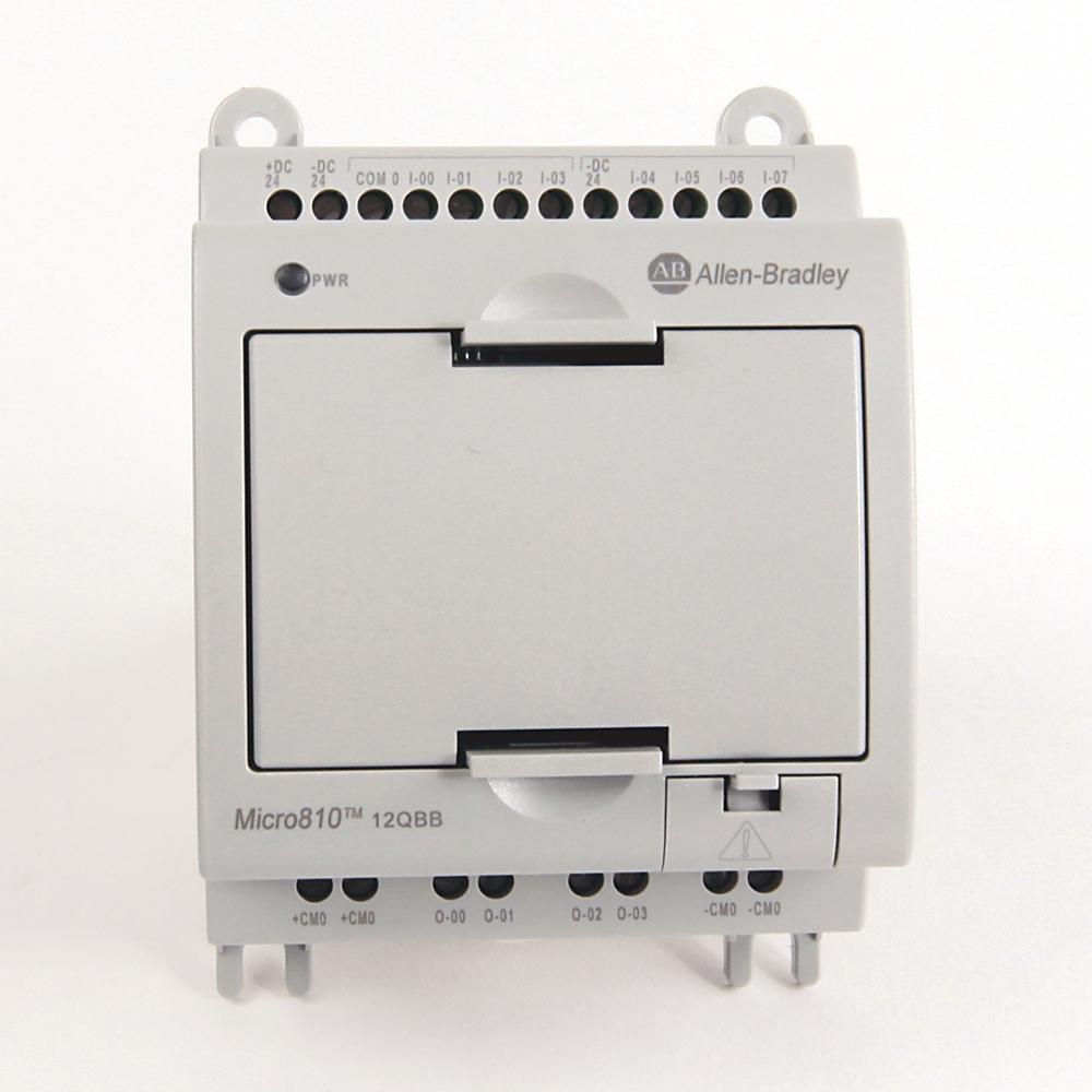 Allen-Bradley,2080-LC10-12QBB,MICRO810  12 I/O SMART RELAY CONTROLLER