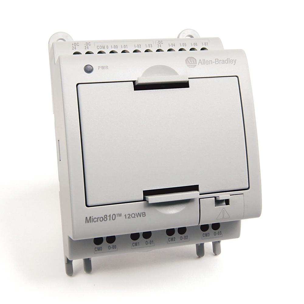 Allen-Bradley,2080-LC10-12QWB,MICRO810  12 I/O SMART RELAY CONTROLLER