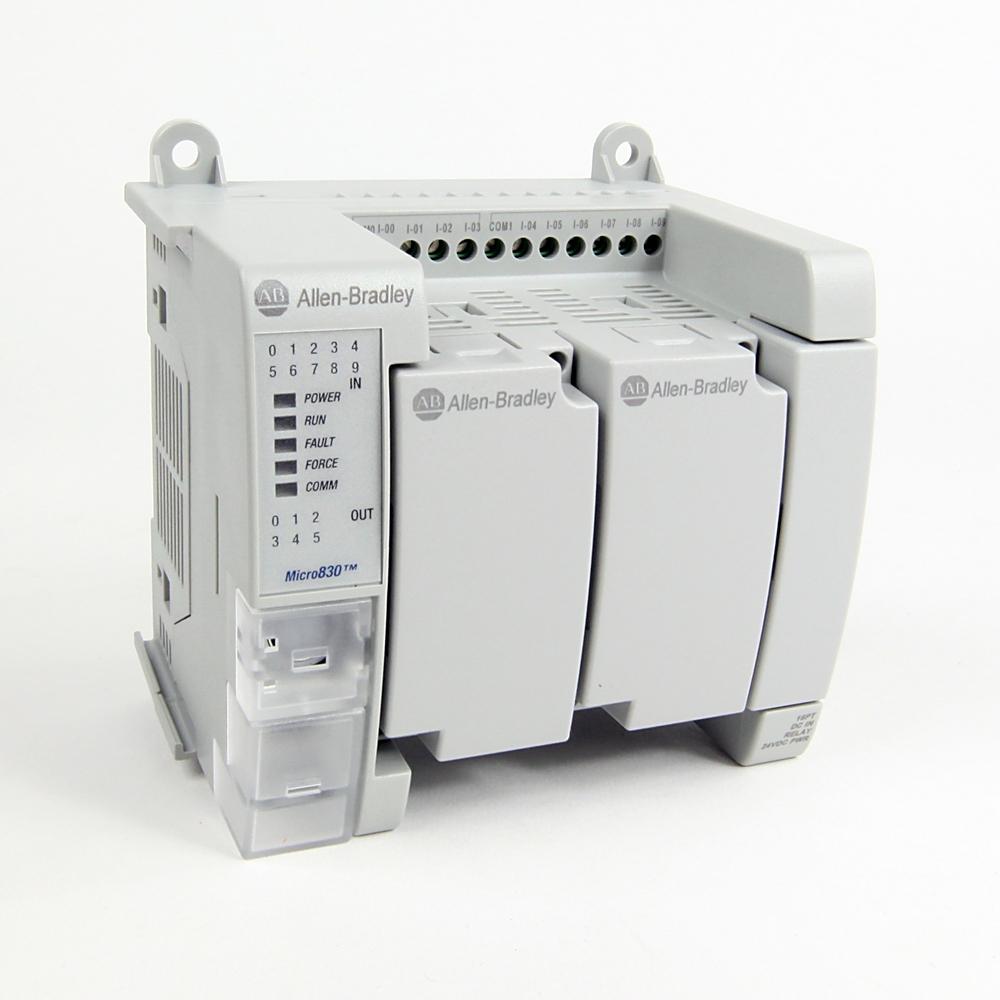 Allen-Bradley,2080-LC30-16QWB,MICRO830  16 I/O CONTROLLER