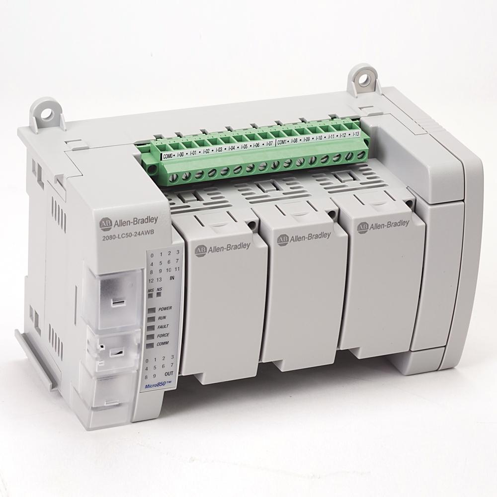 Allen-Bradley,2080-LC50-24AWB,Micro850 24 I/O EtherNet/IP Controller