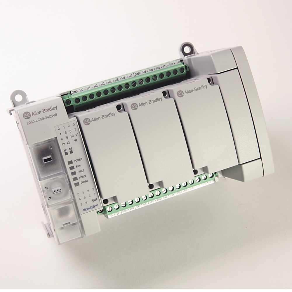 Allen-Bradley,2080-LC50-24QWB,Micro850 24 I/O EtherNet/IP Controller