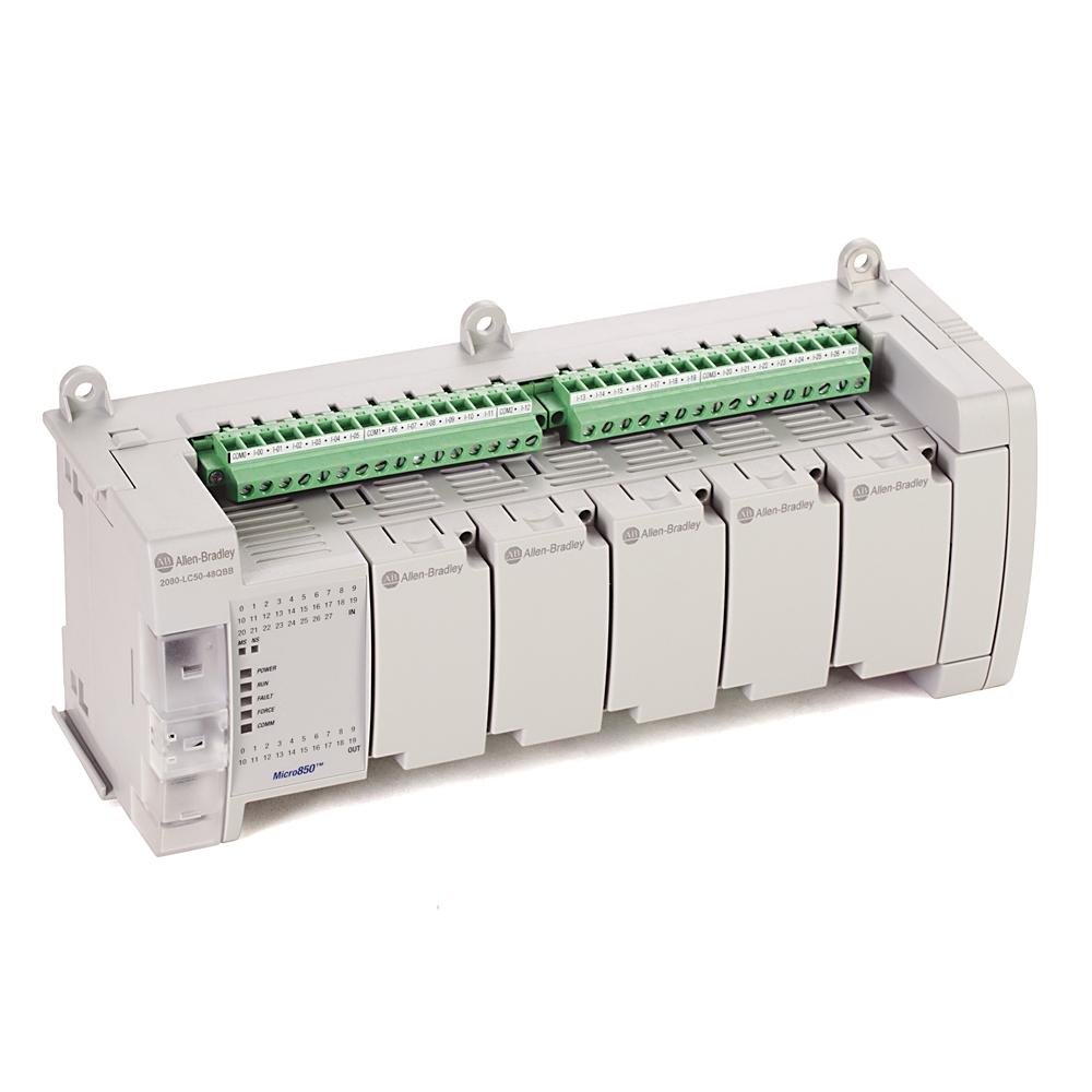 Allen-Bradley,2080-LC50-48QBB,Micro850 48 I/O EtherNet/IP Controller