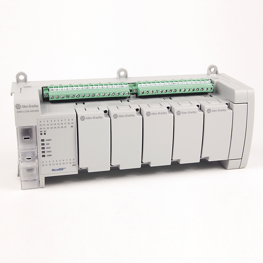 Allen-Bradley,2080-LC50-48QWB,Micro850 48 I/O EtherNet/IP Controller
