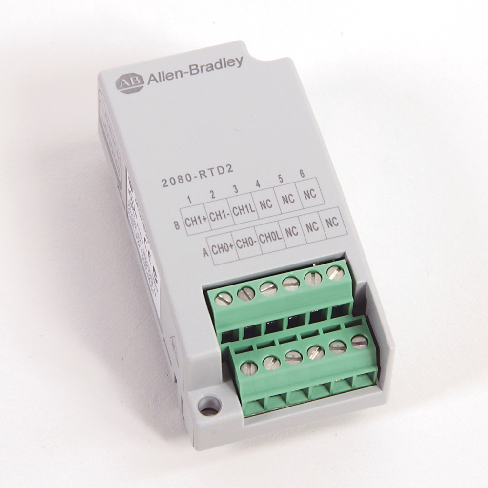 Allen-Bradley,2080-RTD2,MICRO800 2 Channel RTD PLUG-IN