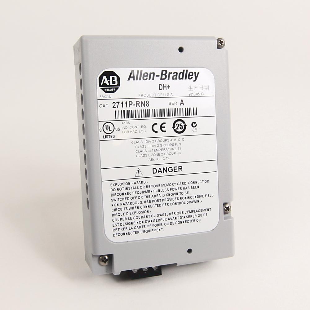 Allen-Bradley,2711P-RN6,PV Plus 700 to 1500 DH Plus RIO Module