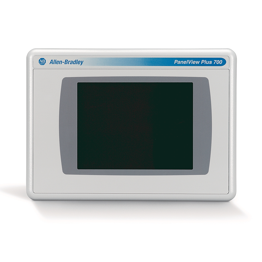 2711P-T7C4D8 AB GRAPHIC TERMINAL PANELVIEW PLUS 6 700 TOUCHSCREEN COLOR DC ETHERNET RS232