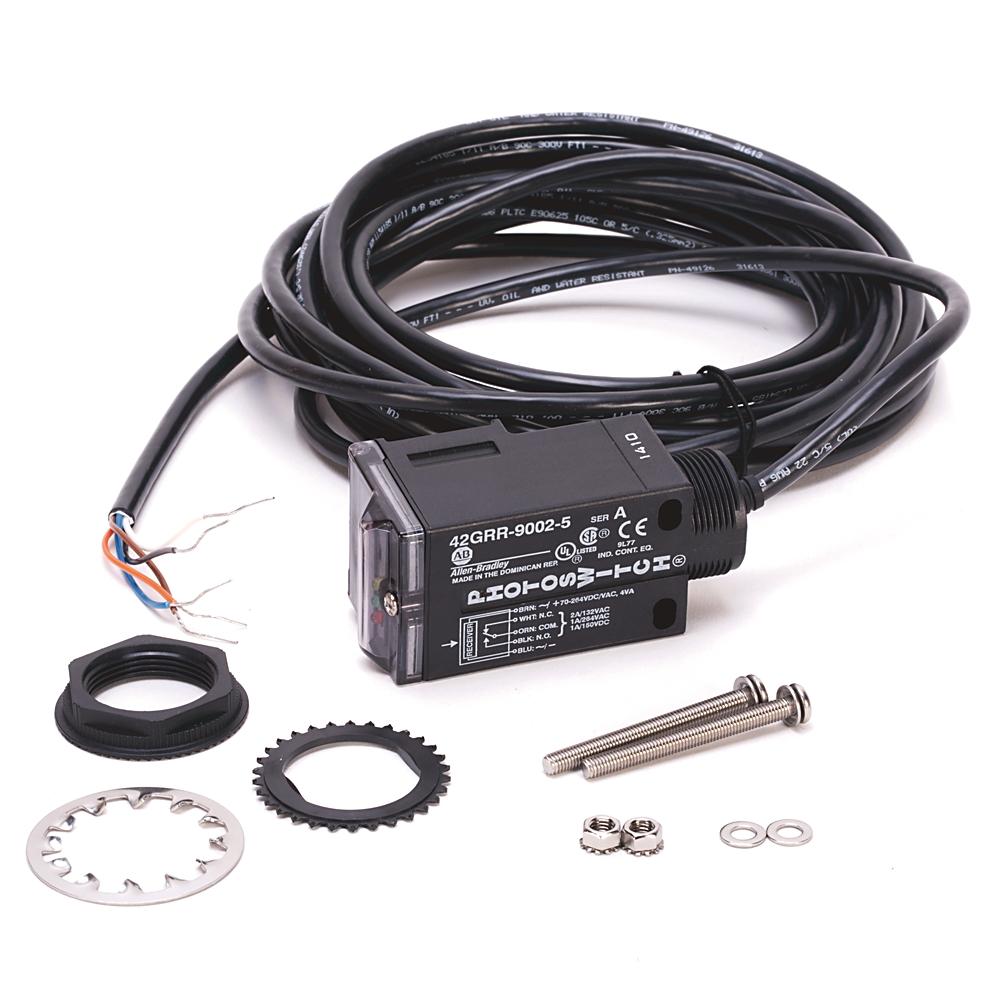 42GRR-9002-QD AB RECVER 65-264VDC 60-264VAC EM RLY MINI CON