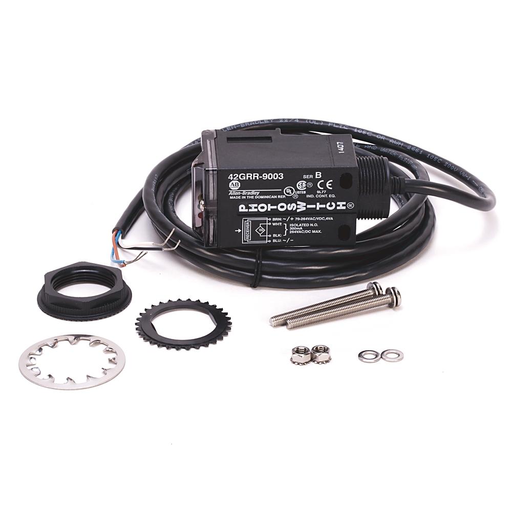 42GRR-9003 AB RECVER 45-264VDC 40-264VAC SS RLY 300V CBL