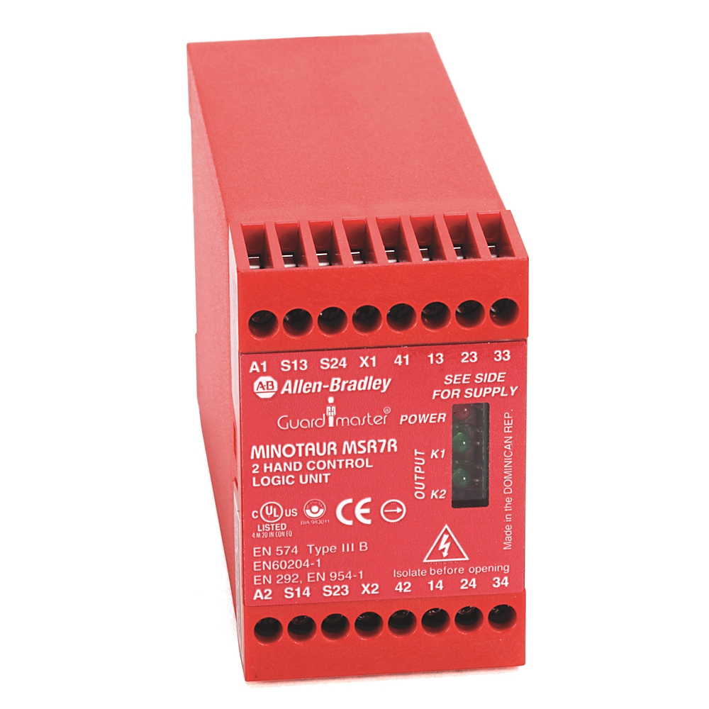 440R-D23171 AB MSR125HP SAFETY RELAY 24VDC 2NO