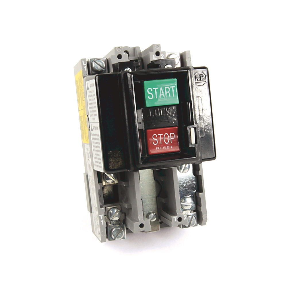 Allen bradley 609 aox north coast electric for Allen bradley manual motor starter