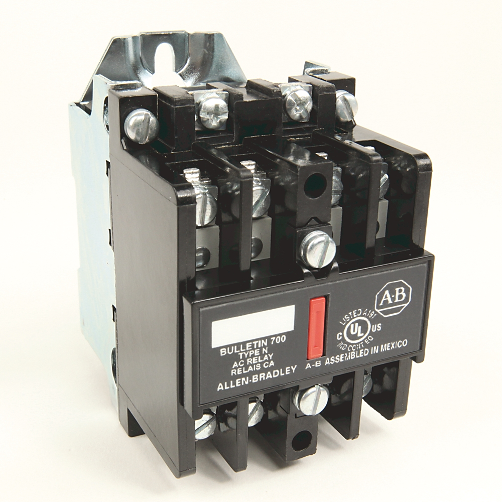 700-N400A1 AB CONTROL RELAY OPEN TYPE 110V