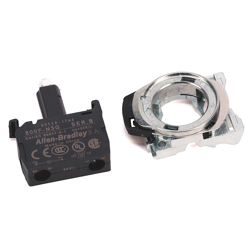 800F-PN5GX11 AB 800F LED MODULE WITH PLASTIC LATCH 78118048713