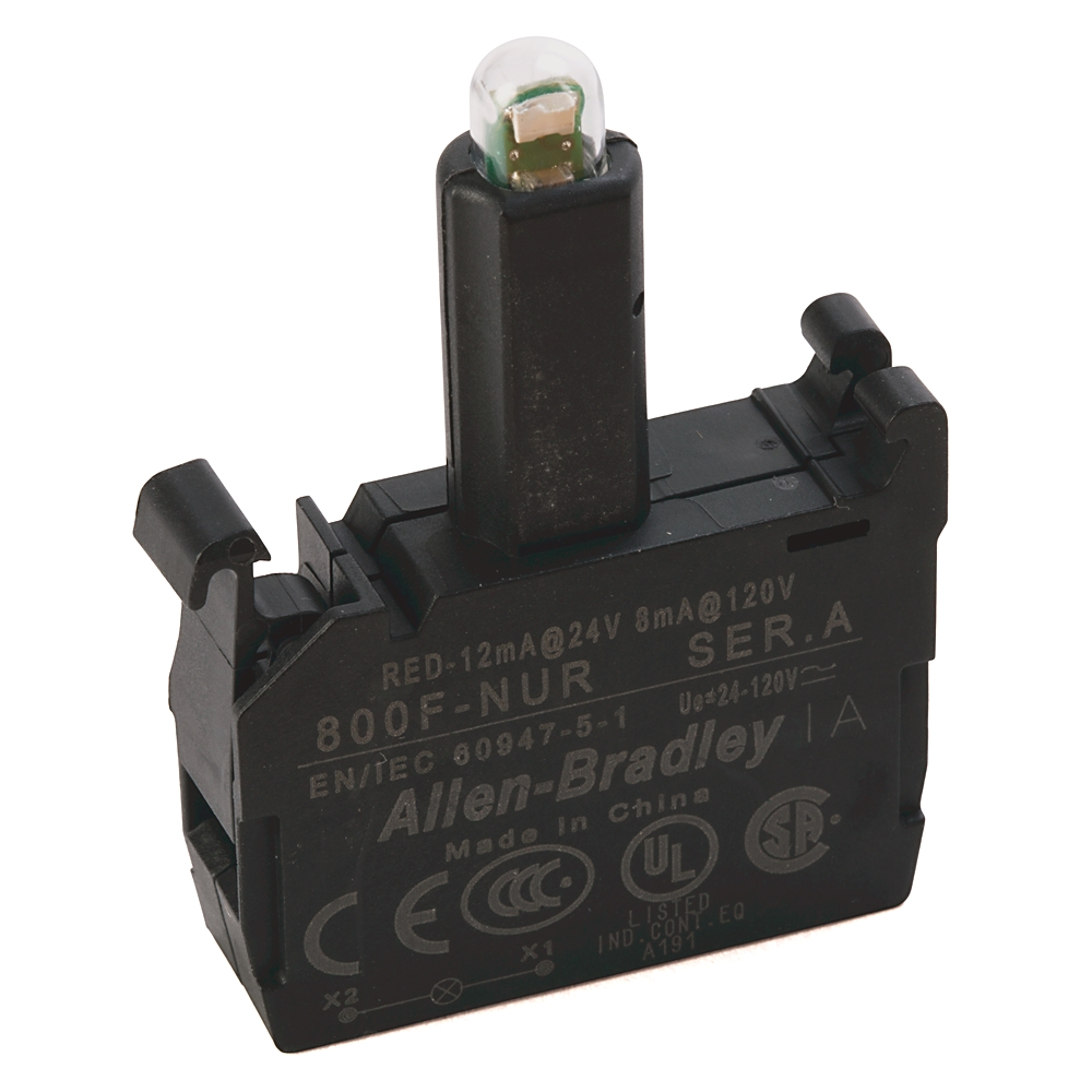 800F-NUR AB 800F-NUR 24-120V RED LED SCREW CLAMP 88563017935