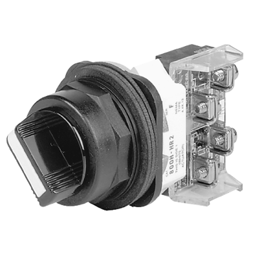 800H-NR2KF4C AB 30MM SELECTOR SWITCH 800H PB 61132014511