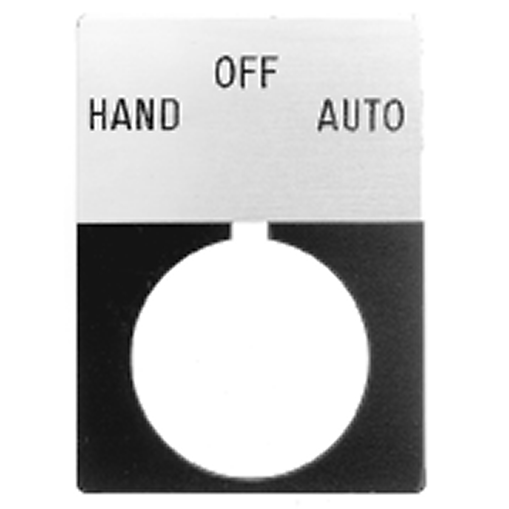 Allen-Bradley 800T-X648J 30 mm Push Button Legend Plate