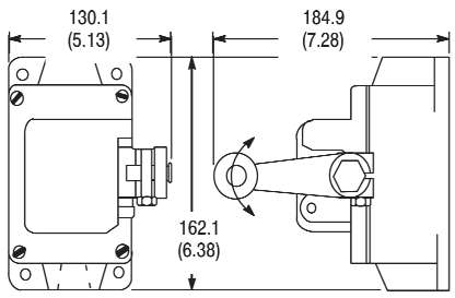 801-ASK1721 AB SWITCH,LIMIT
