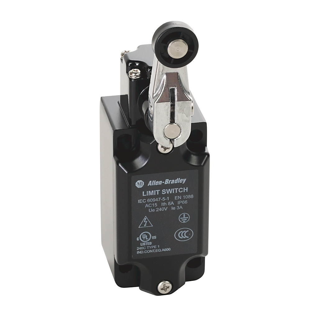 802K-MSLB22B AB LARGE METAL LIMIT SWITCH NON-SAFETY