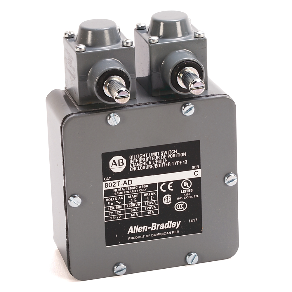 A-B 802T-CD Standard Limit Switch