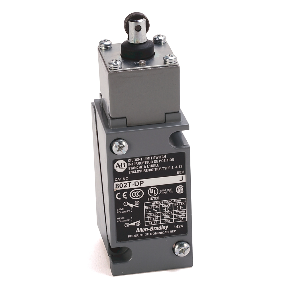 802T-DP1 AB TOP ROLLER LIMIT SWITCH
